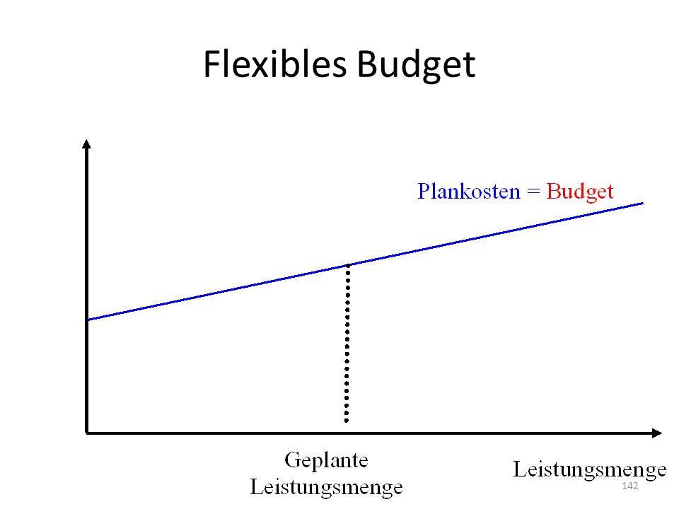 Flexibles Budget 142