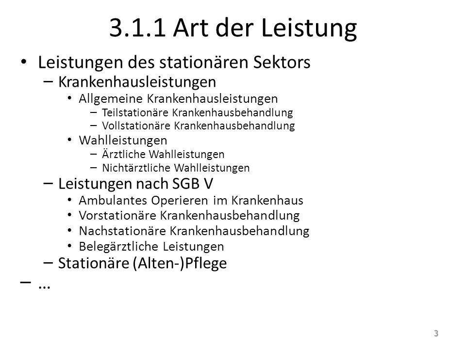 Stationäre Altenpflege: Typologie Teilstationäre Altenpflege, insb.