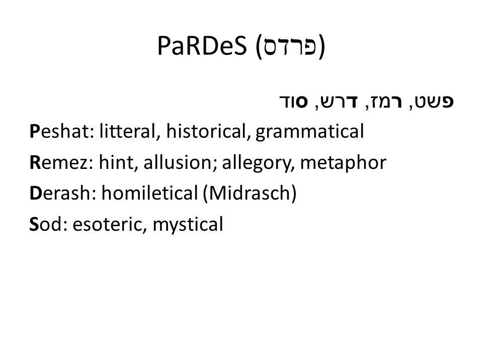 Von der Bibel bis zum Midrasch Genesis 1,3-4: 3 Und Gott sprach: Es werde Licht.
