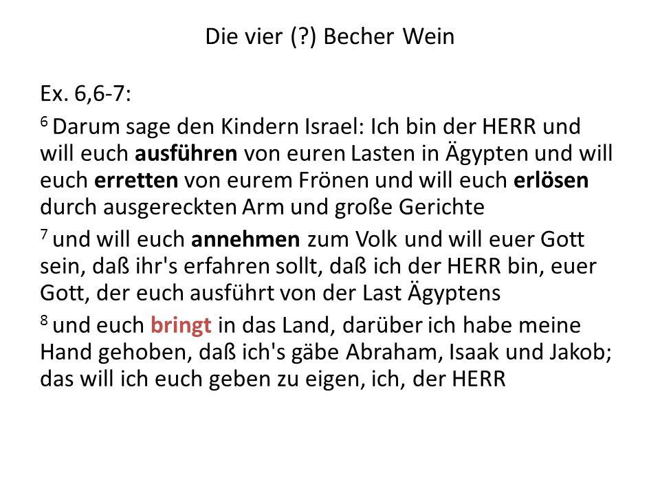 Die Ordnung des Sederabends 1.Kadesch8. Maror 2. Urchatz9.