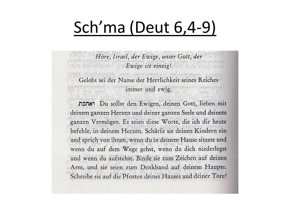Schaharit ( שחרית ): Morgengebet 1.Segenssprüche/Berakhot a.M.