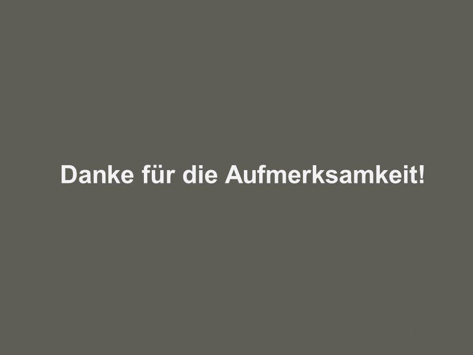 your name Danke für die Aufmerksamkeit!