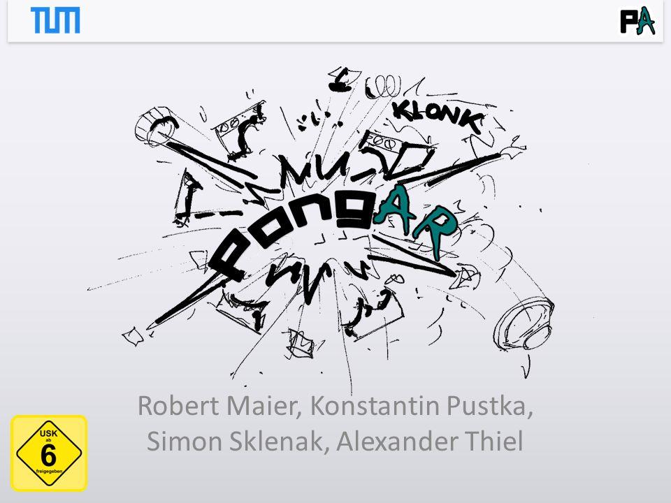 Robert Maier, Konstantin Pustka, Simon Sklenak, Alexander Thiel