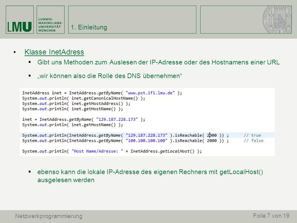 Aufgabe 3: Schreiben sie eine Server/Client-Chatapplikation auf Basis von RMI, welche folgendes ermöglicht: 1.