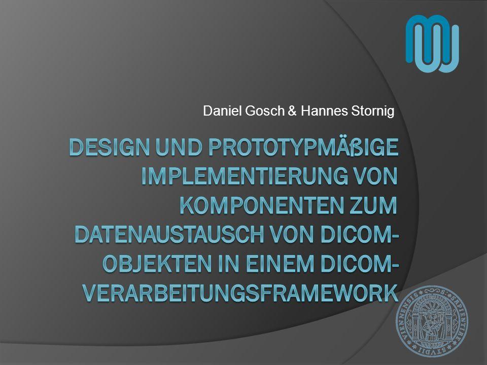 Überblick DICOM Problembeschreibung Fragestellungen Software Prototyp