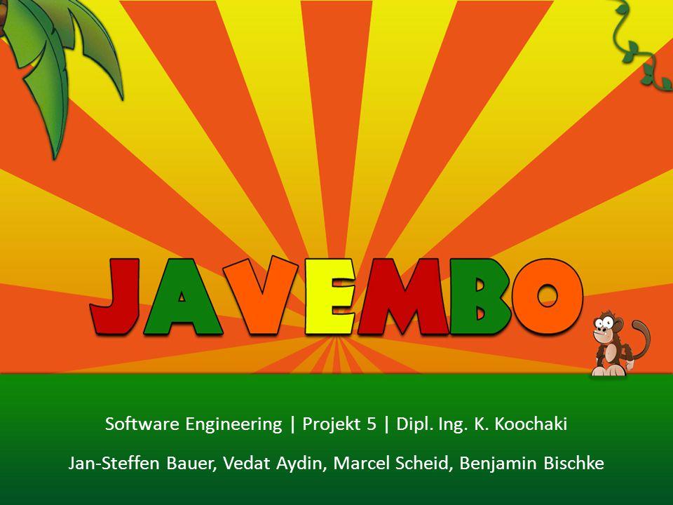 Software Engineering | Projekt 5 | Dipl. Ing. K. Koochaki Jan-Steffen Bauer, Vedat Aydin, Marcel Scheid, Benjamin Bischke