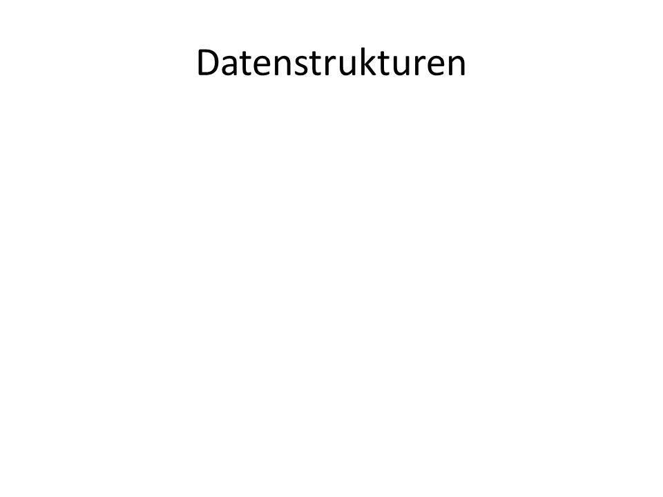 Datenstrukturen