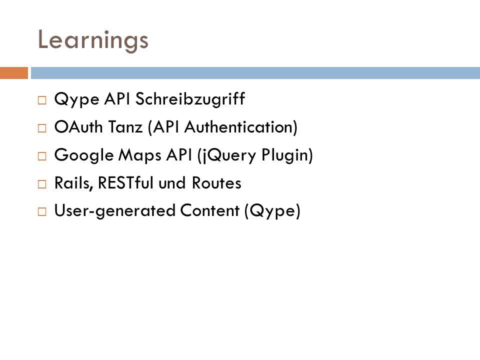 RESTful & Rails Routes http://api.qype.com/v1/places http://api.qype.com/v1/places/42 CRUD vs SQL vs HTTP