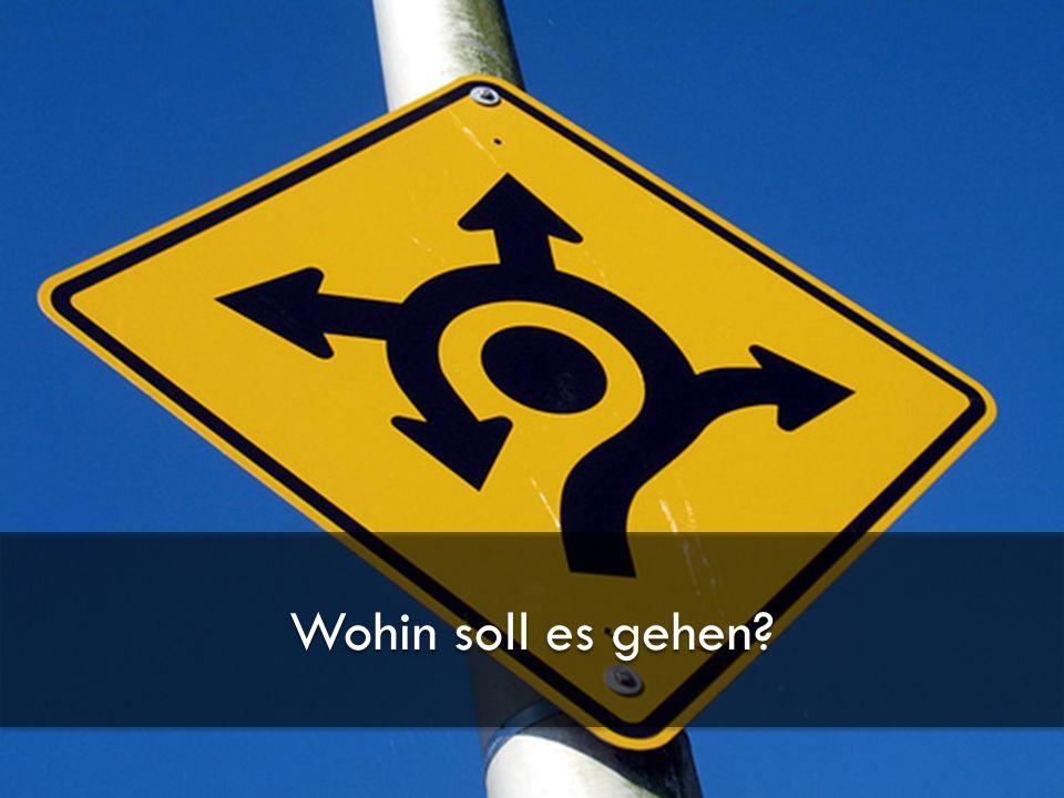13.01.2010 RateMe - Pirmin Schürmann, Thomas Junghans - Hochschule für Technik Zürich 3 Wohin soll es gehen