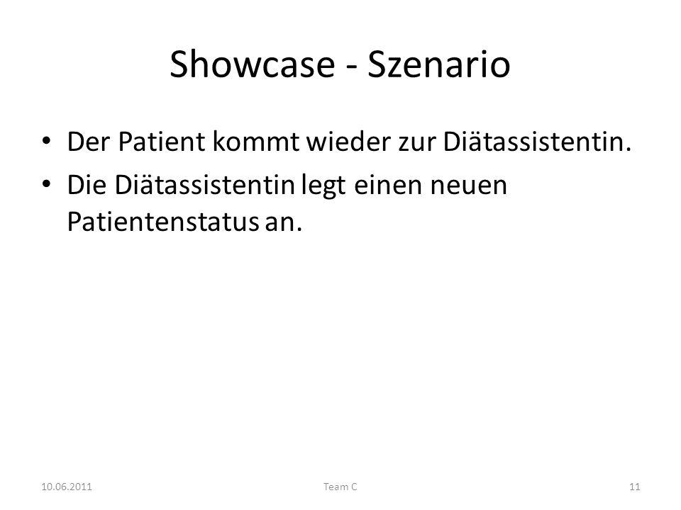 Showcase - Szenario Der Patient kommt wieder zur Diätassistentin.