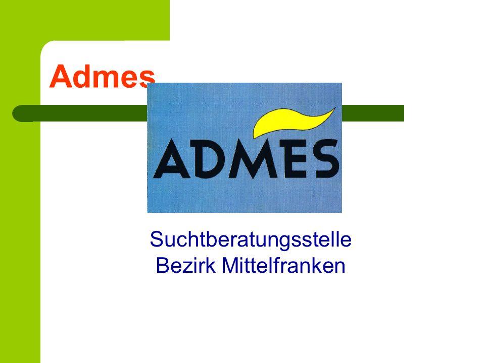 Admes Suchtberatungsstelle Bezirk Mittelfranken