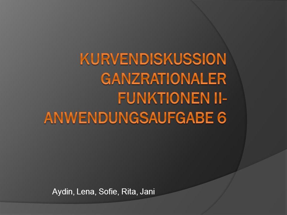 Aydin, Lena, Sofie, Rita, Jani