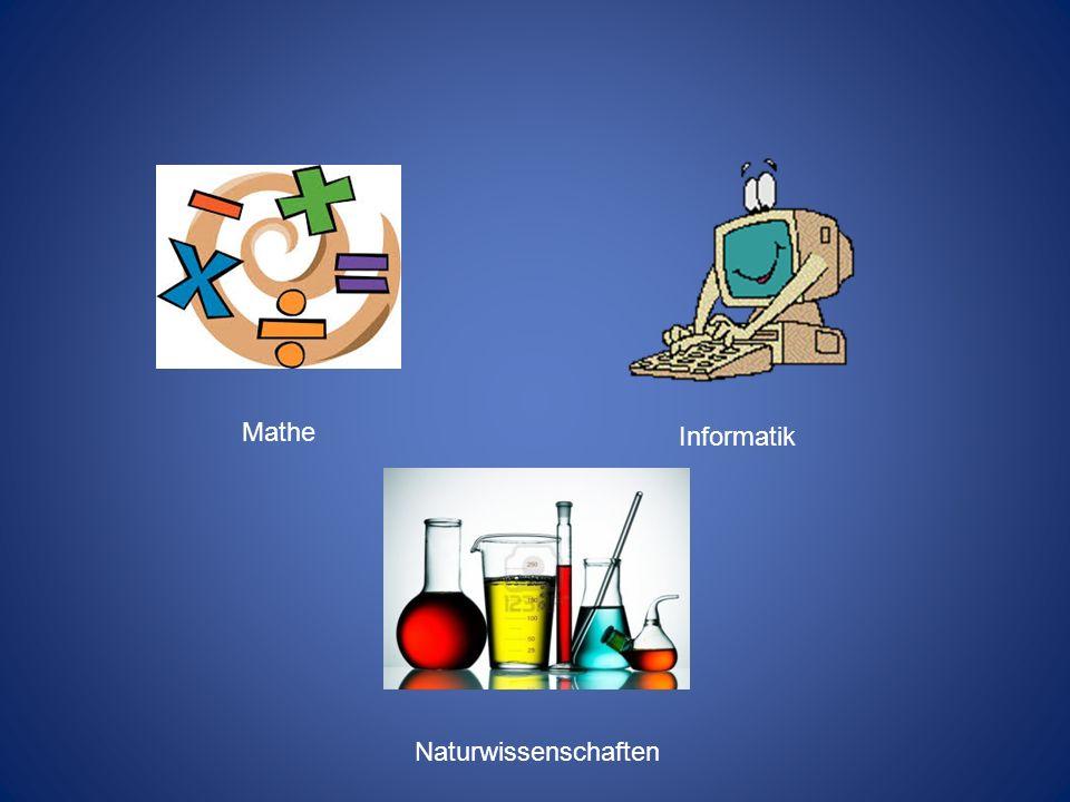 Mathe Informatik Naturwissenschaften