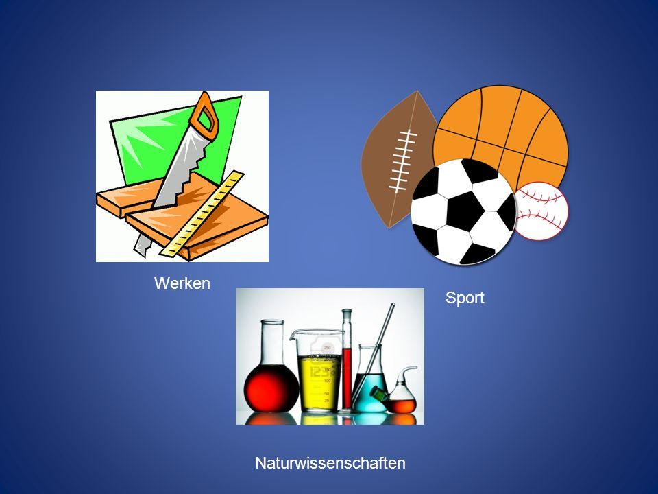 Werken Sport Naturwissenschaften