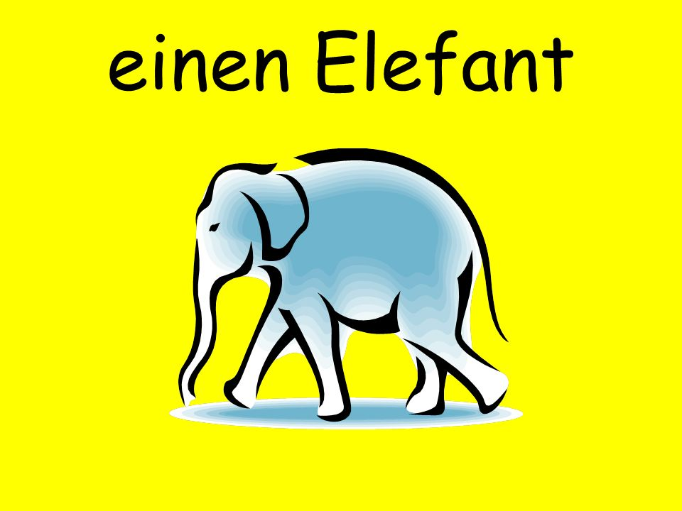 einen Elefant