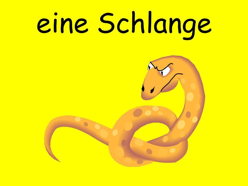 eine Schlange