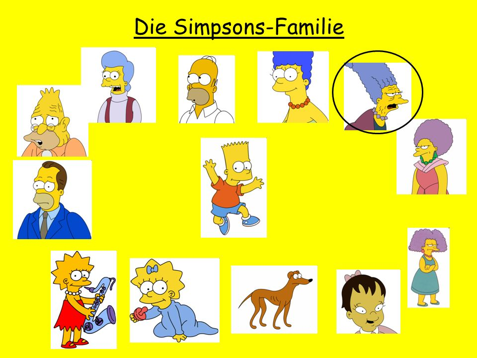 Die Simpsons-Familie