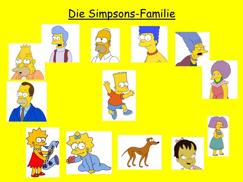 Die Simpsons-Familie