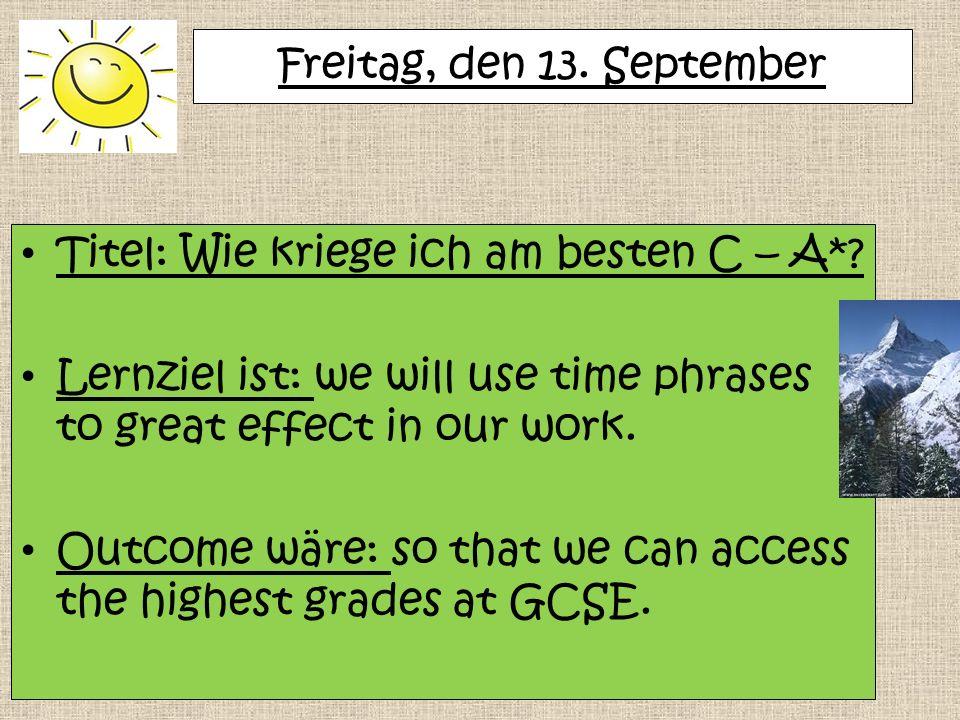 Beantworte die Fragen auf Deutsch.Wo bist du in den Ferien hingefahren.