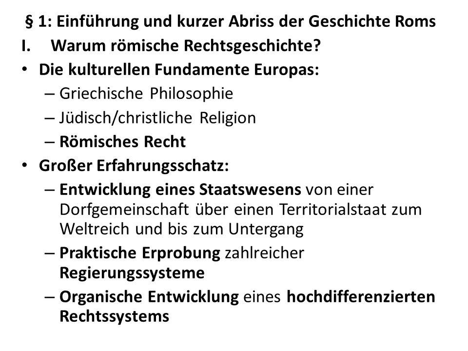 5.Der Bürgerkrieg (133 v. Chr. – 30 v.