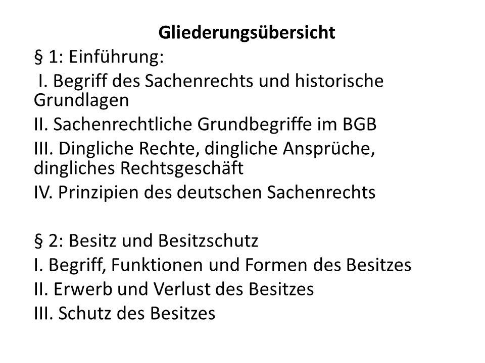 2.Arten von Sachen a.Bewegliche (z.B.