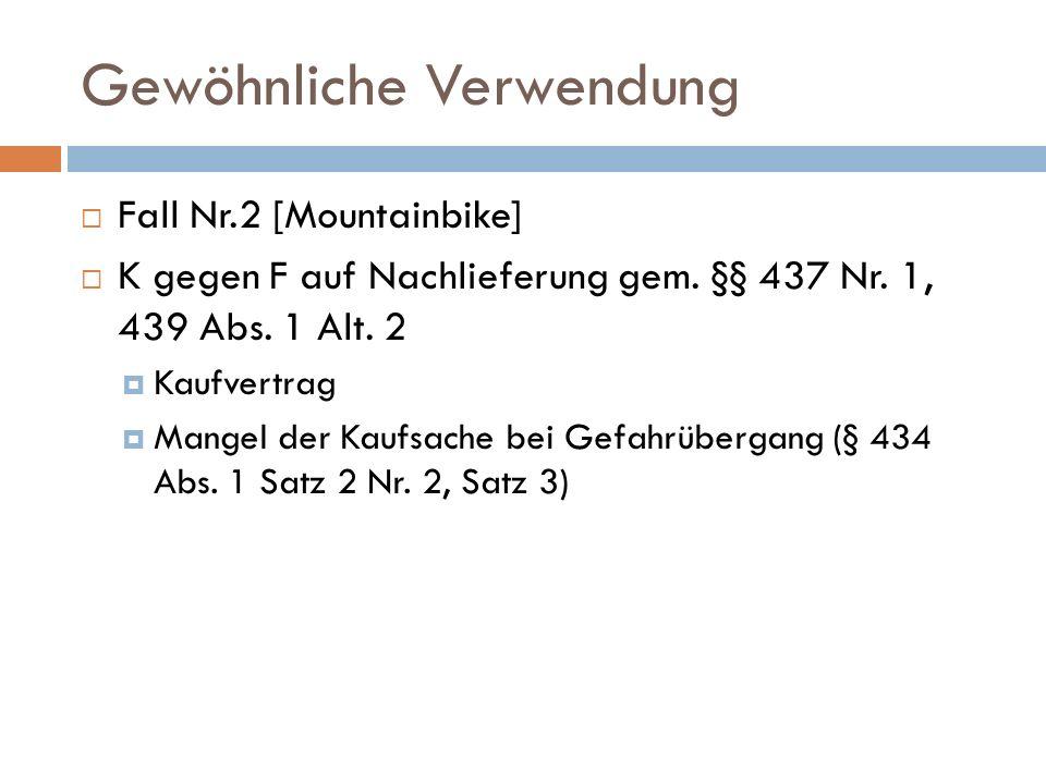 Gewöhnliche Verwendung Begründung, BT-Drucks.12/6040, S.