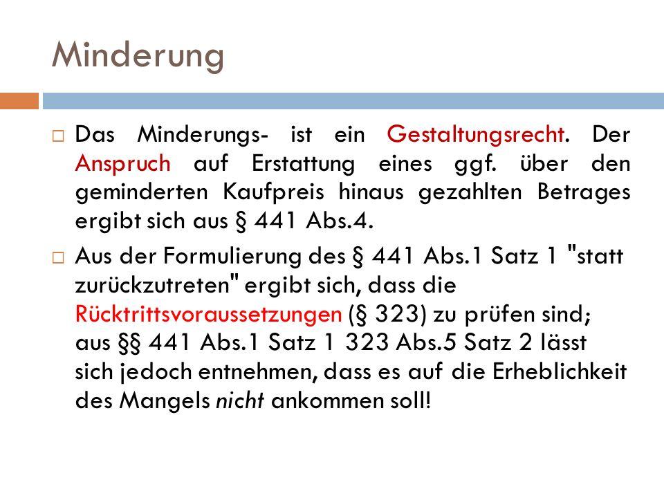 Fall Nr.# [Feuerlöscher] K gegen V auf Erstattung des Mehrbetrags gem.