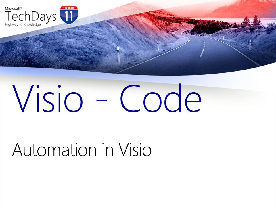 Automation in Visio Visio - Code