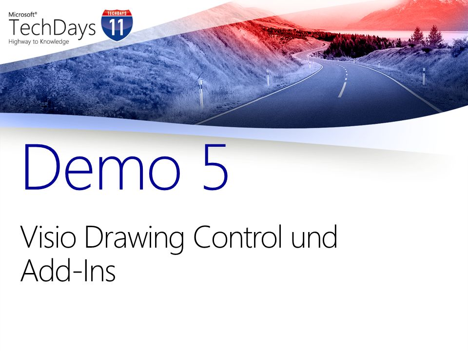Visio Drawing Control und Add-Ins Demo 5