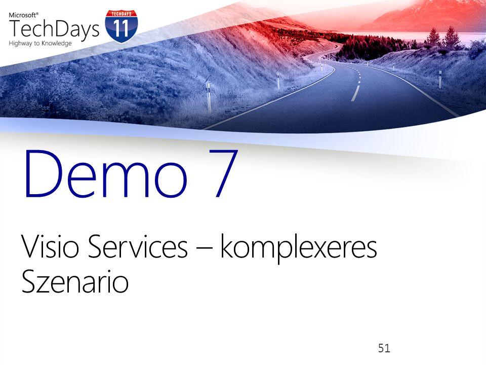 Visio Services – komplexeres Szenario Demo 7 51