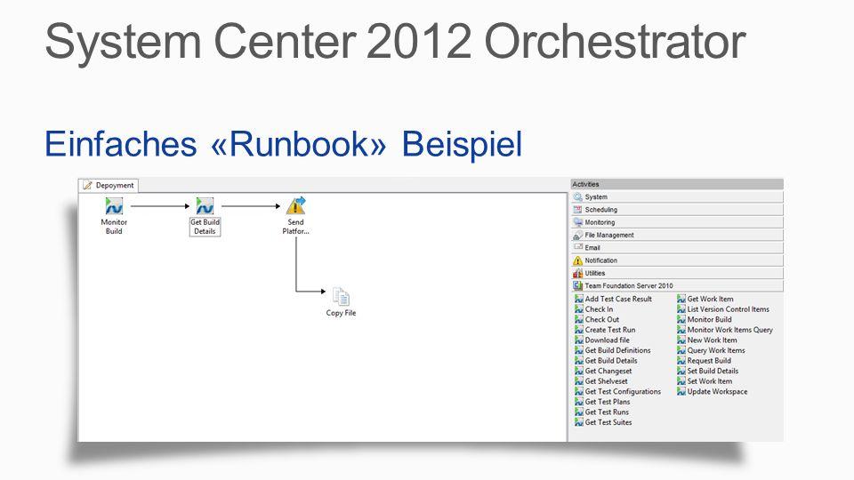 Einfaches «Runbook» Beispiel