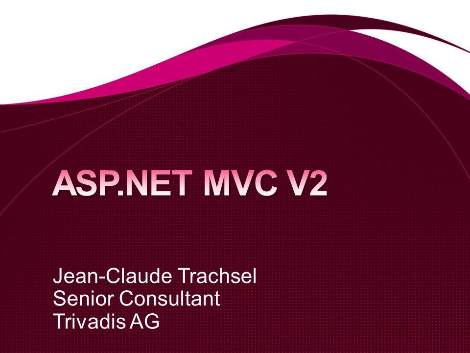 Jean-Claude Trachsel Senior Consultant Trivadis AG