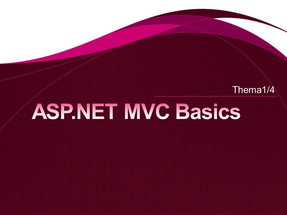 Acronym für Model View Controller Ein Design Pattern Mechanismus um Verantwortlichkeiten zu trennen