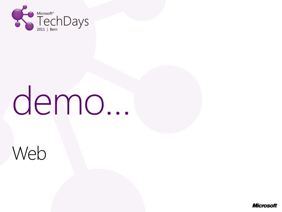 Web demo…