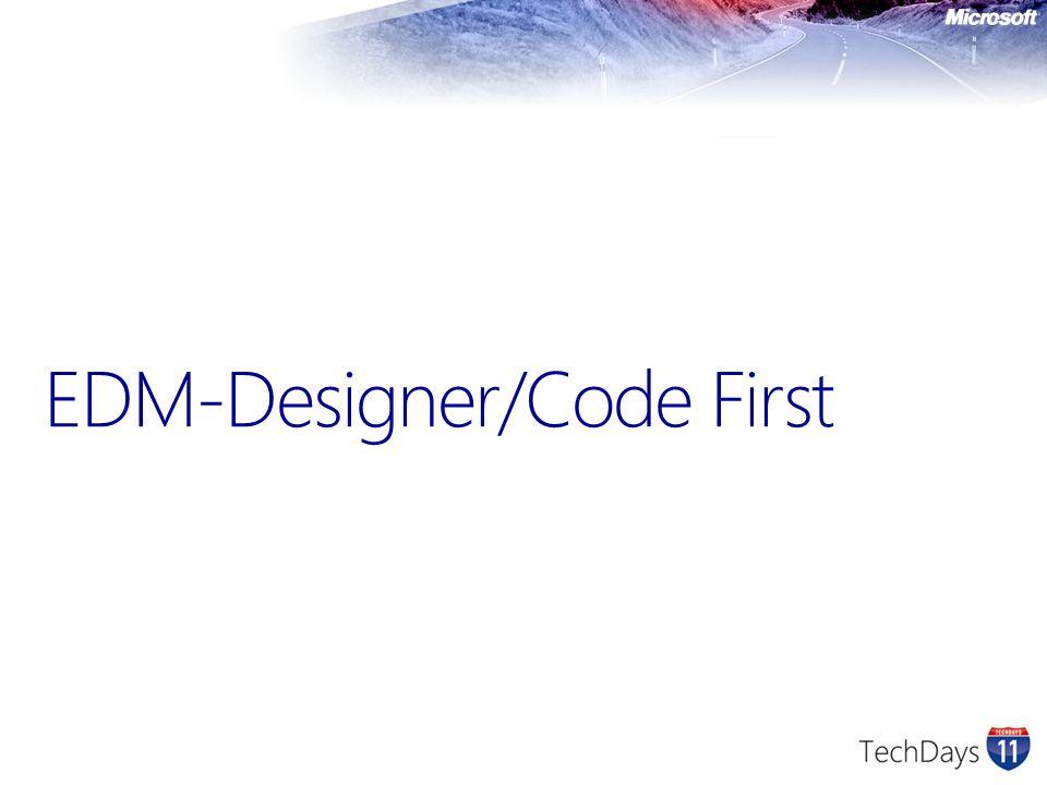 EDM-Designer/Code First