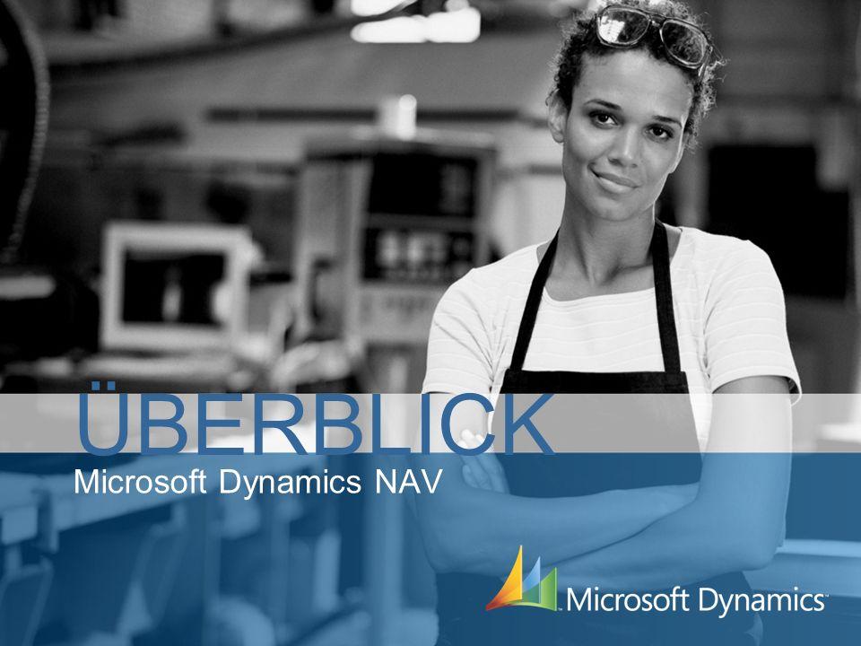 Bei Microsoft Dynamics NAV handelt es sich um eine integrierte Businessmanagement- lösung speziell für kleine und mittel- ständische Unternehmen.