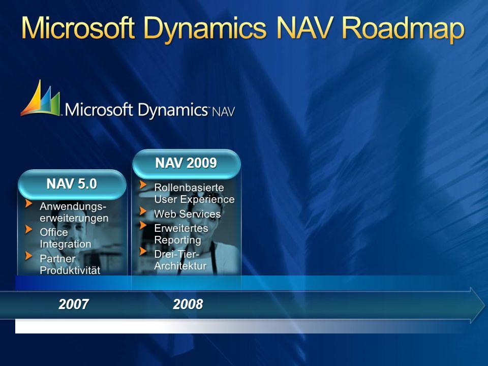 2007 NAV 5.0 2008 NAV 2009