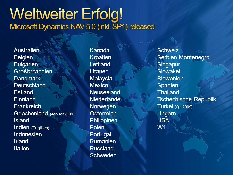 Australien Belgien Bulgarien Großbritannien Dänemark Deutschland Estland Finnland Frankreich Griechenland (Januar 2009) Island Indien (Englisch) Indon