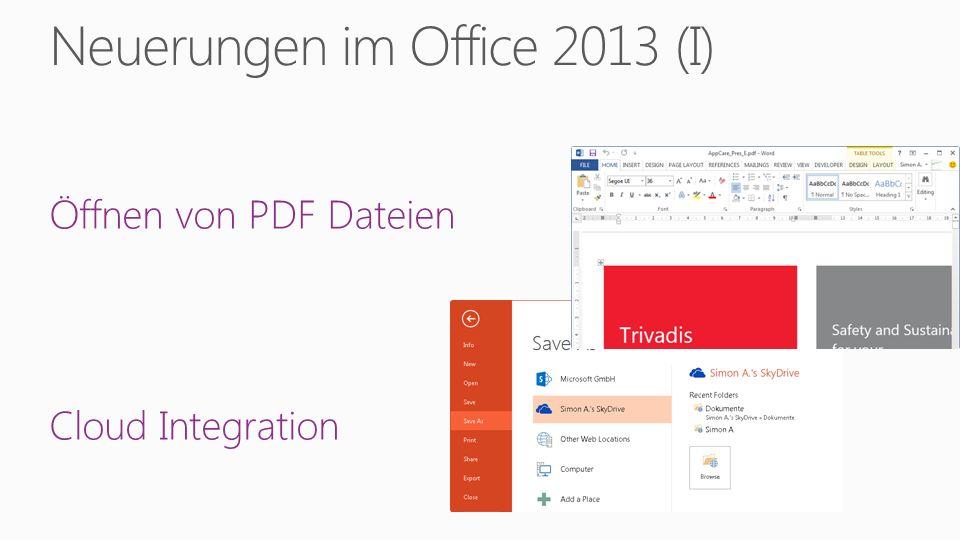 Demo Hinzufügen einer App für Office