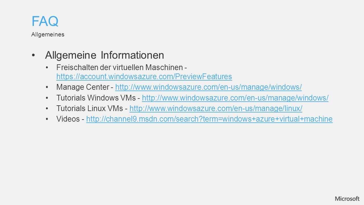 Downloads Command-Line Tools - http://www.windowsazure.com/en-us/manage/downloads/http://www.windowsazure.com/en-us/manage/downloads/ Foren Preview Foren - http://social.msdn.microsoft.com/Forums/en-US/category/windowsazureplatformctp http://social.msdn.microsoft.com/Forums/en-US/category/windowsazureplatformctp Downloads & Troubleshooting FAQ