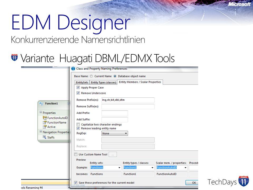 Variante Huagati DBML/EDMX Tools