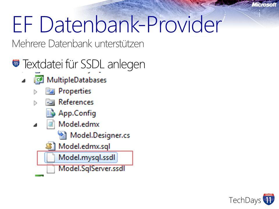 Textdatei für SSDL anlegen