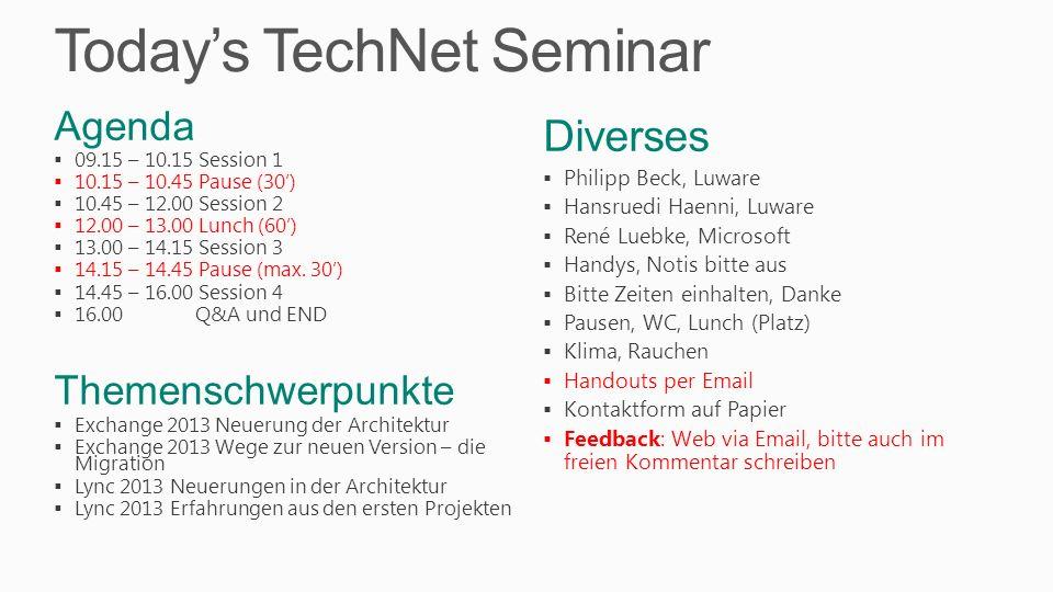 IT Pro Evaluations - TechNet EvalCenter 1.TechNet 2.