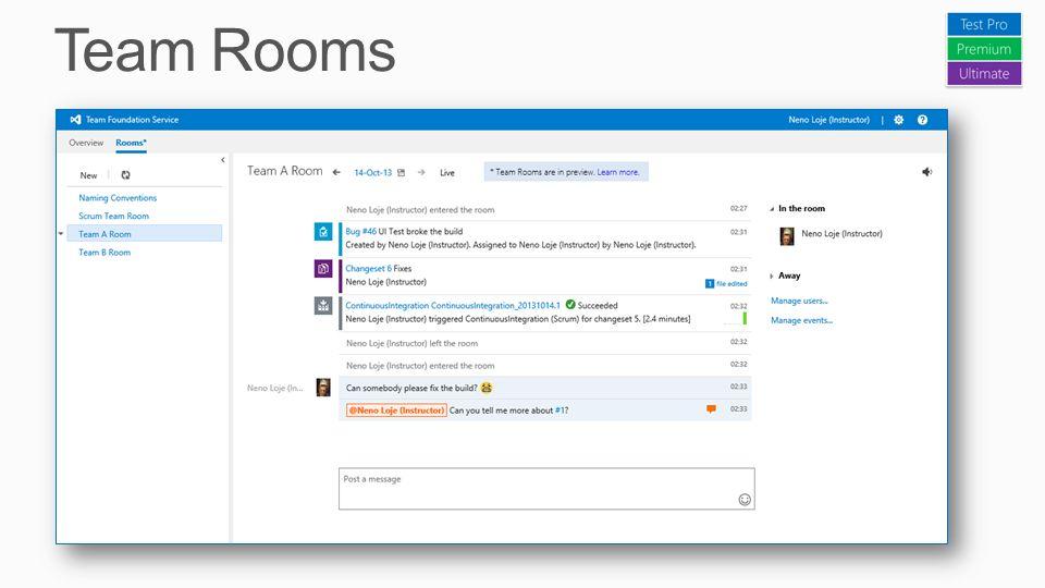 Team Rooms