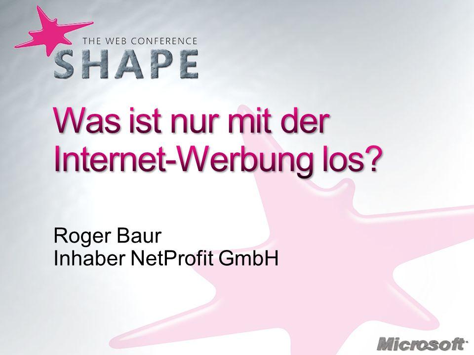 Roger Baur Inhaber NetProfit GmbH