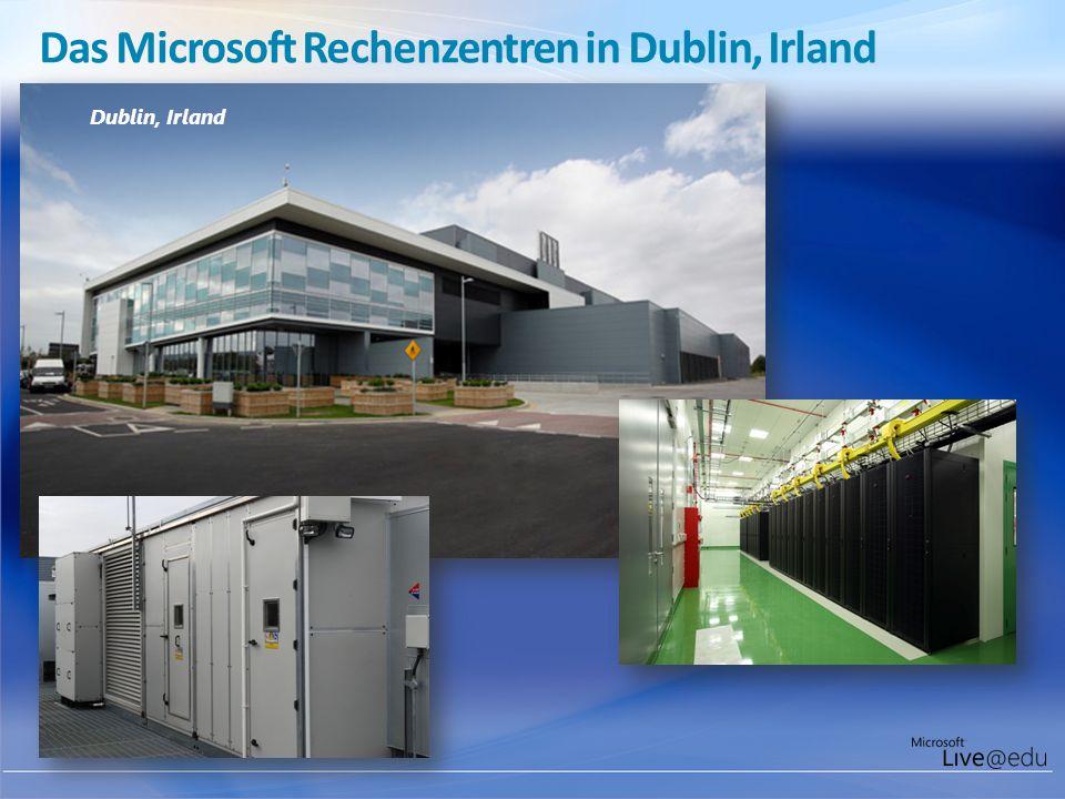 Das Microsoft Rechenzentren in Dublin, Irland Dublin, Irland