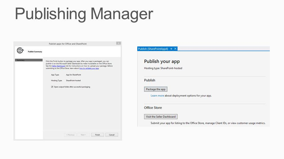 Publishing Manager