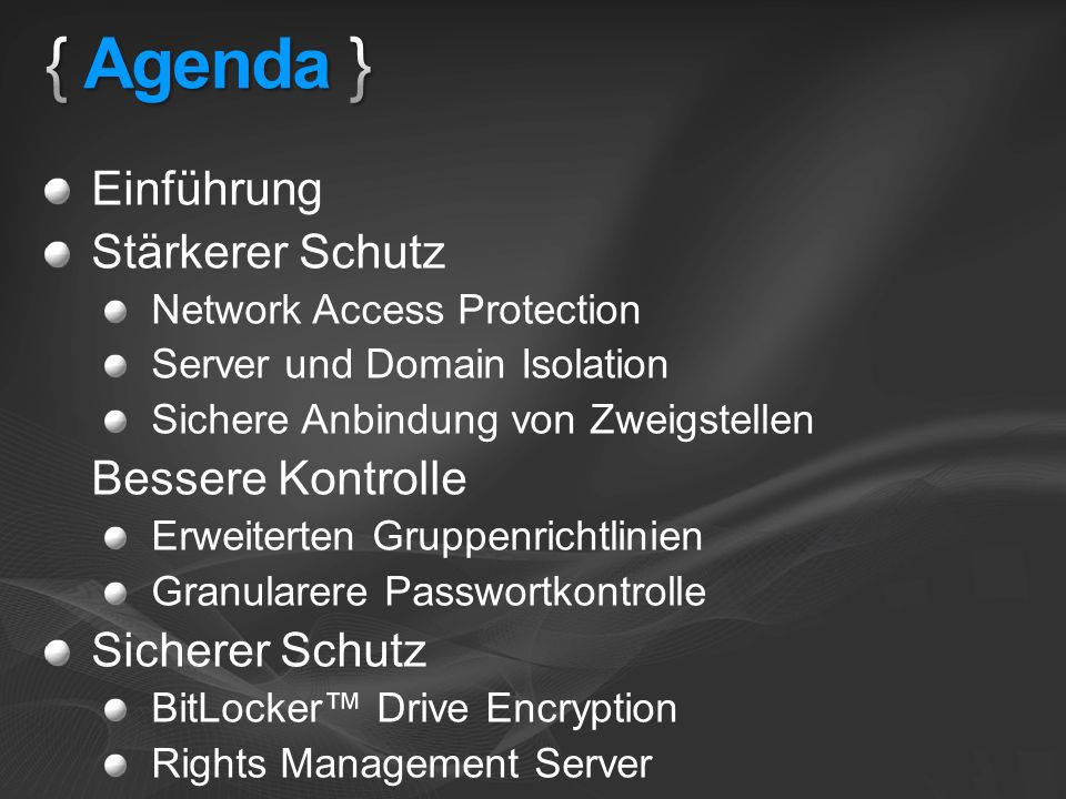 Boot Windows Partition > Verschlüsseltes Betriebsystem > Verschlüsselte Auslagerungsdatei > Verschlüsselte temporäre Dateien > Verschlüsselte Daten > Verschlüsseltes Hibernation File Boot Partition: MBR, Loader, Boot Utilities (Unverschlüsselt, 1,5 GB klein) Wo ist der Verschlüsselungsschlüssel.