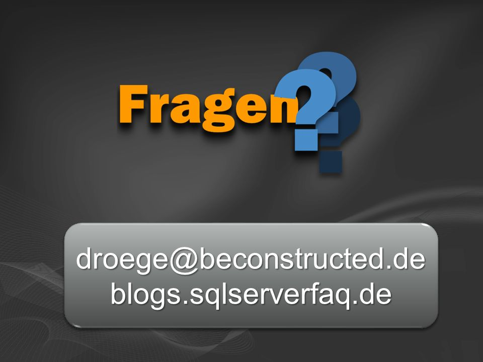 droege@beconstructed.deblogs.sqlserverfaq.dedroege@beconstructed.deblogs.sqlserverfaq.de