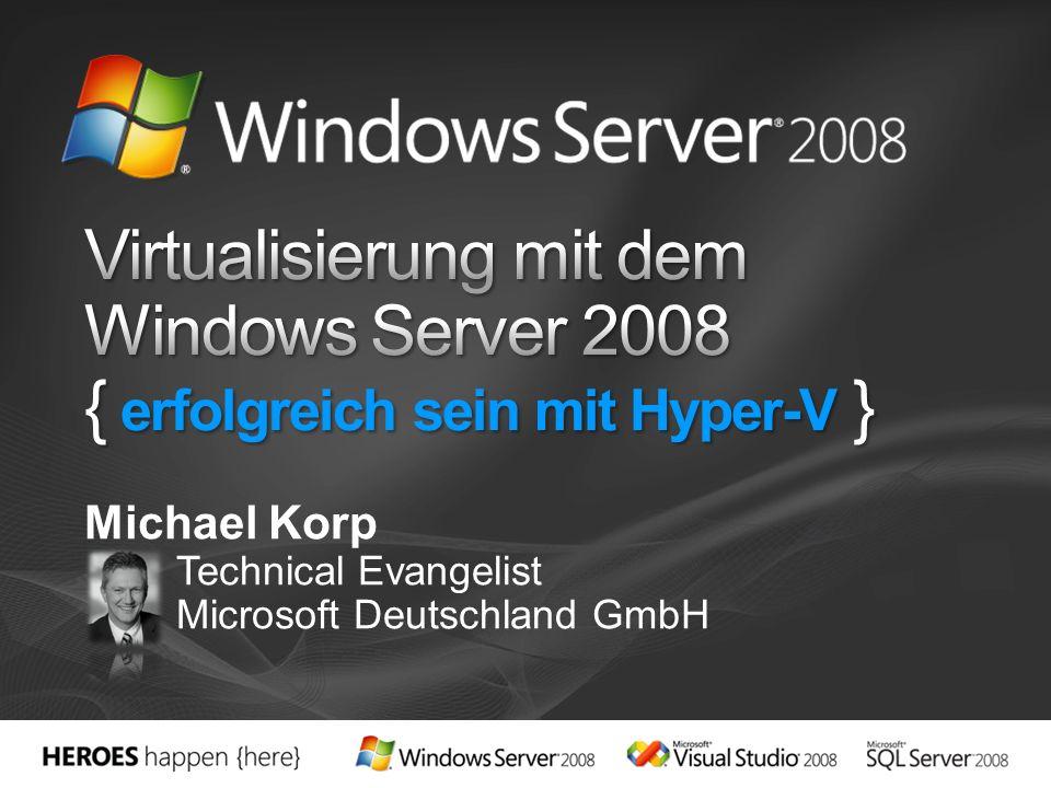 Michael Korp Technical Evangelist Microsoft Deutschland GmbH